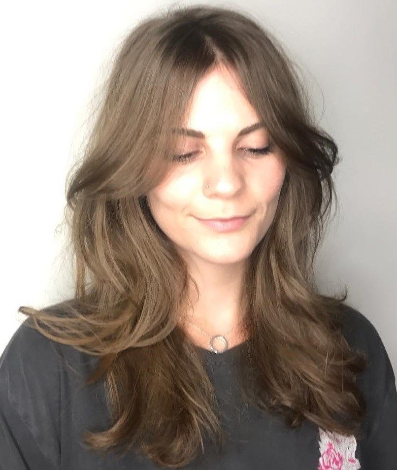 60 Lovely Long Shag Haircuts For Effortless Stylish Looks Long Shag Haircut Long Hair With Bangs Long Shag Hairstyles