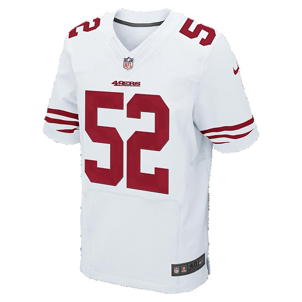 new style 57efd 691fb Nike NFL San Francisco 49ers (Patrick Willis) Men's Football ...