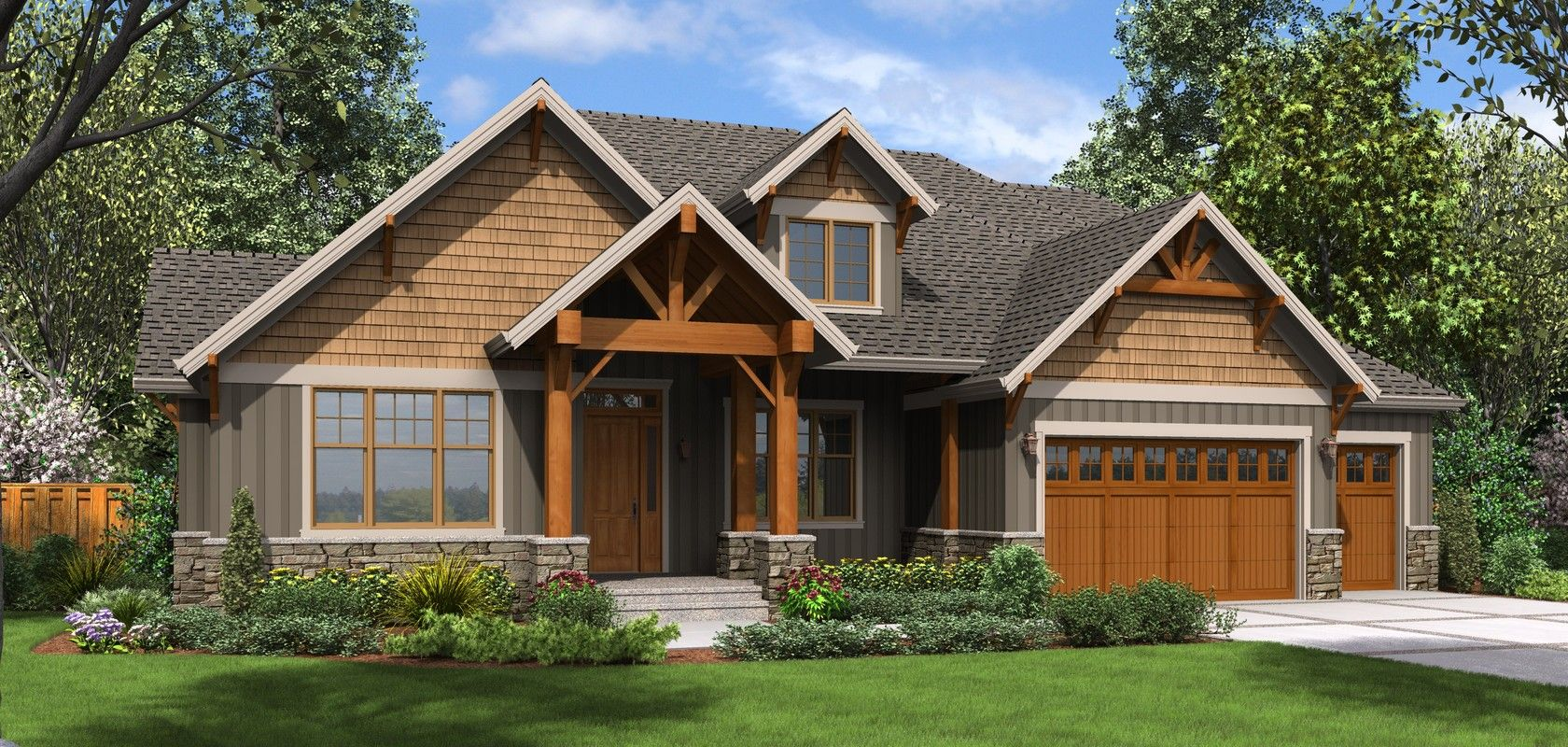 plan 23111 the edgefield craftsman style house plans