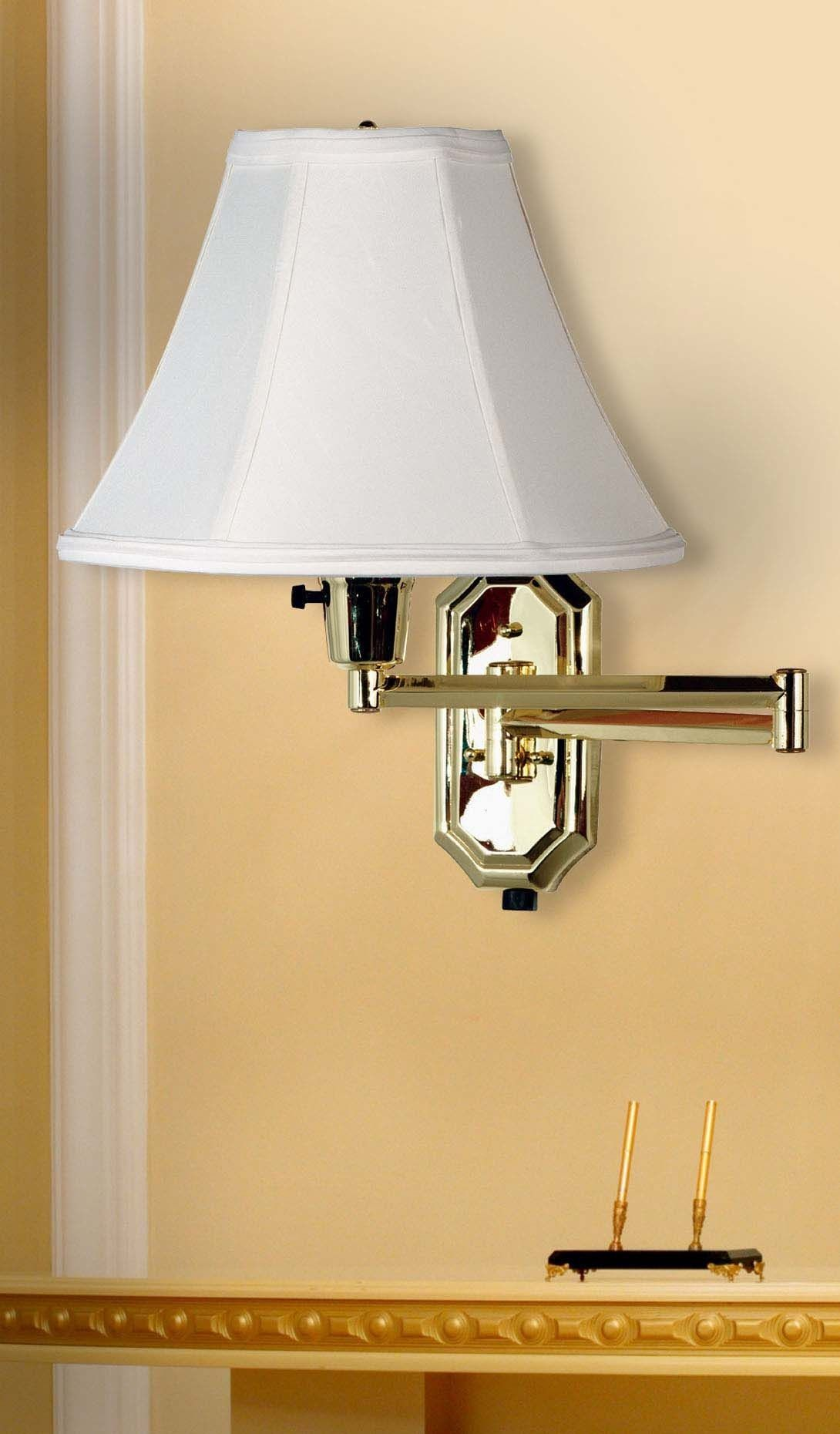 Robot Check House Of Troy Swing Arm Wall Lamps Library Lamp