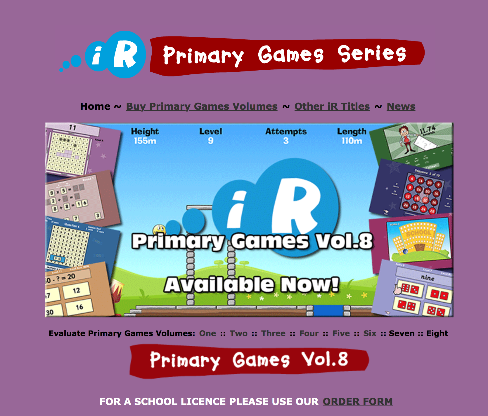 Primary Games collection   E-Learning: Mathematics   Pinterest ...