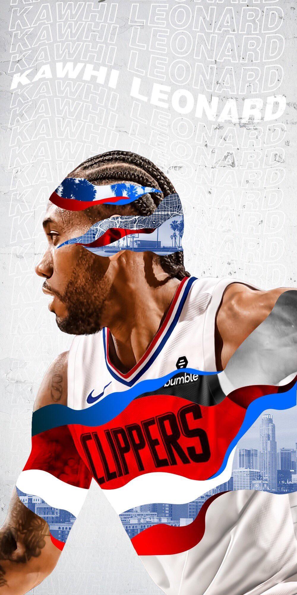 Kawhi Leonard La Clippers Wallpaper Iphone Nba Basketball Art Basketball Players Nba Nba Pictures