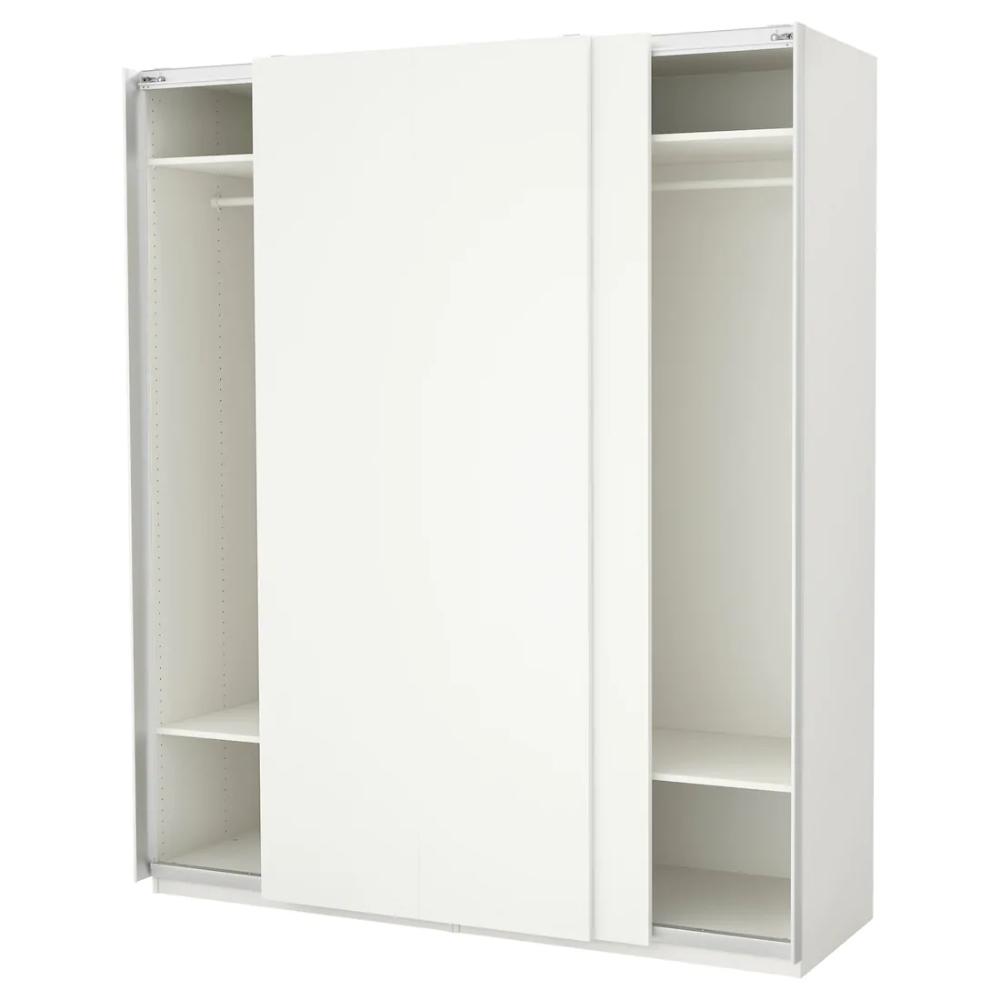 White, Hasvik White 78 3/4x26x93 1/8