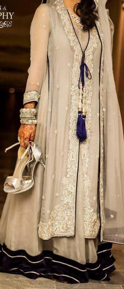 Koti Sharara Fashion Indian Fashion Pakistani Fashion