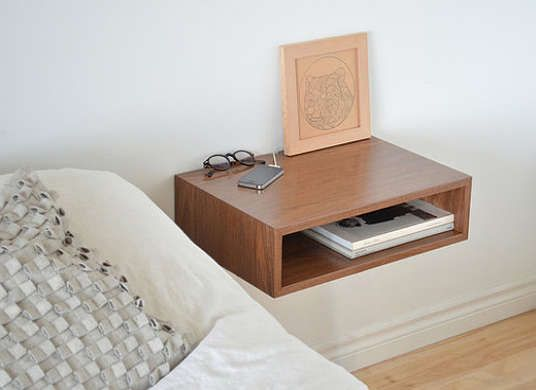 8 Nightstands You Don T Need To Buy Floating Bedside Table