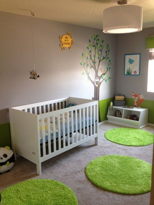 a nursery waiting in walla walla tapis verts couleurs naturelles et gazon. Black Bedroom Furniture Sets. Home Design Ideas