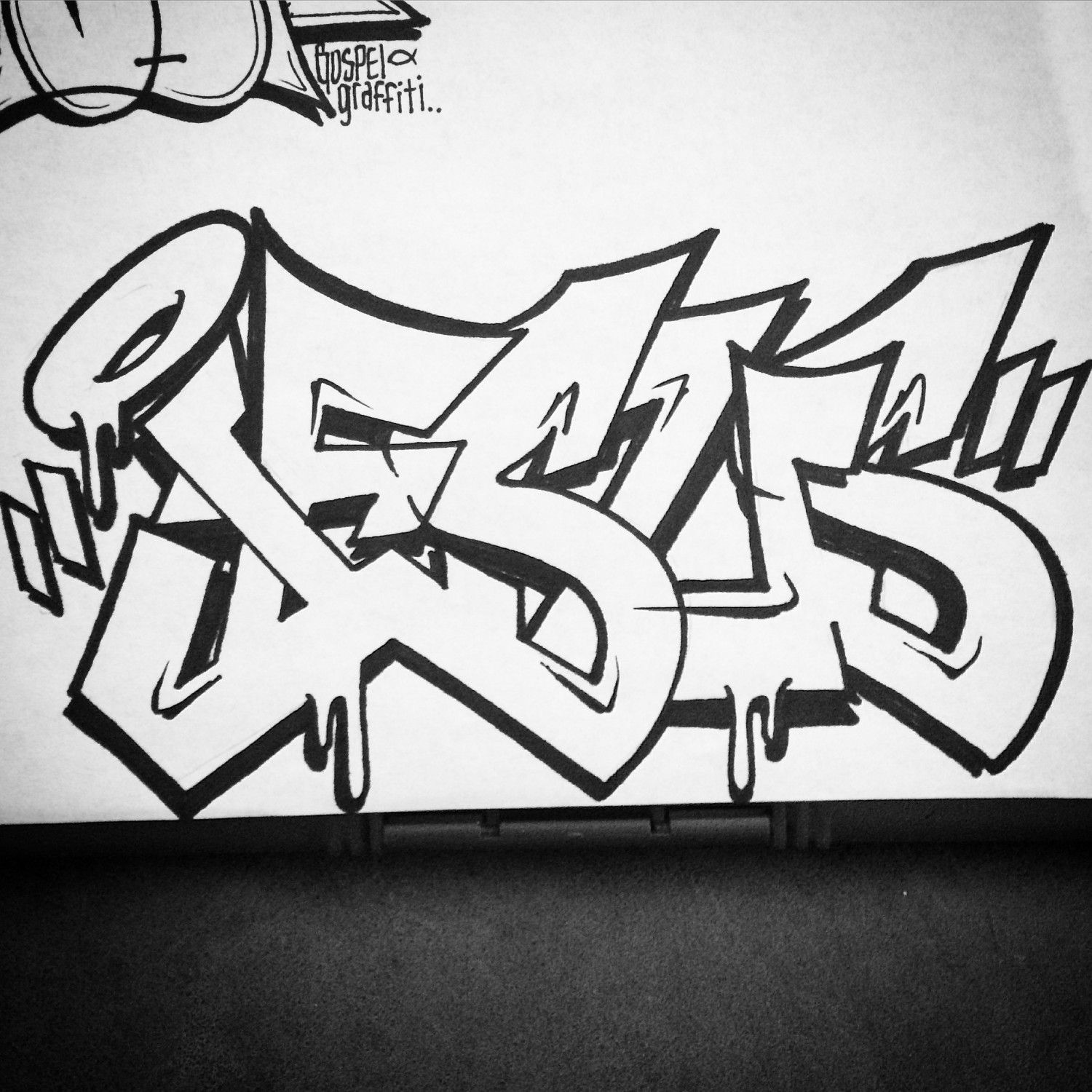 Were a group of christian graffiti artists and we want to reflect the light of the world christ jesus through our work and our whole existence