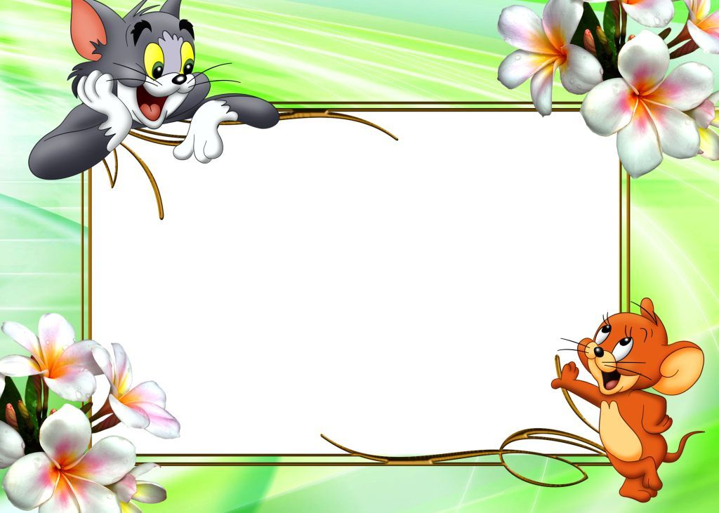 Kids Frame Download Powerpoint Backgrounds Kids Frames Boarders And Frames Tom And Jerry Cartoon