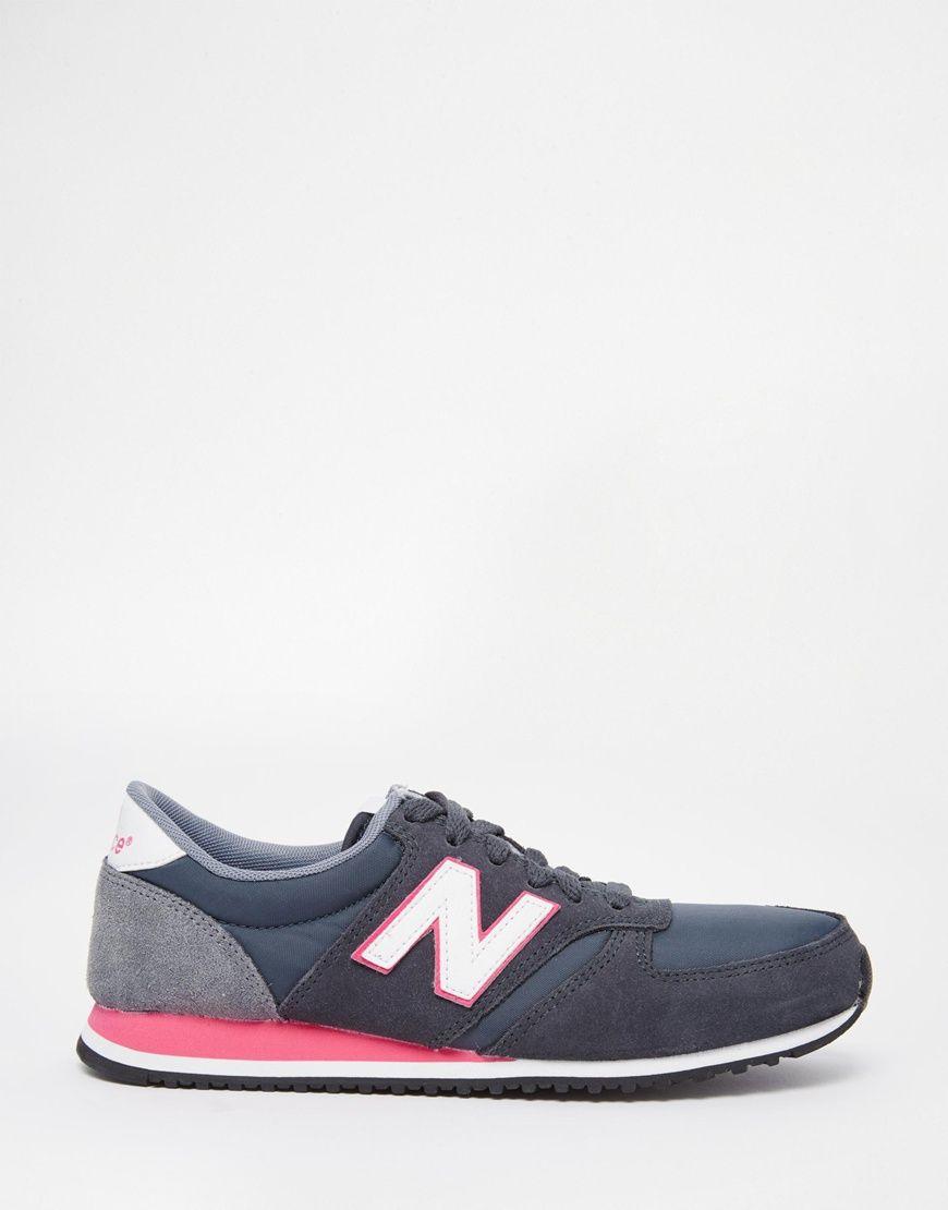 new balance zapatillas mujer rosas y grises