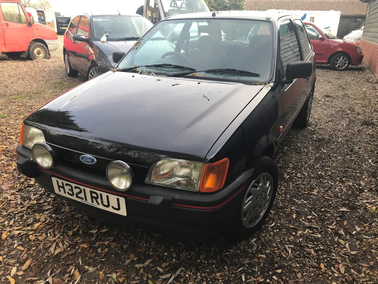 1991 ford fiesta 1 6 s one lady owner and only 38k from new