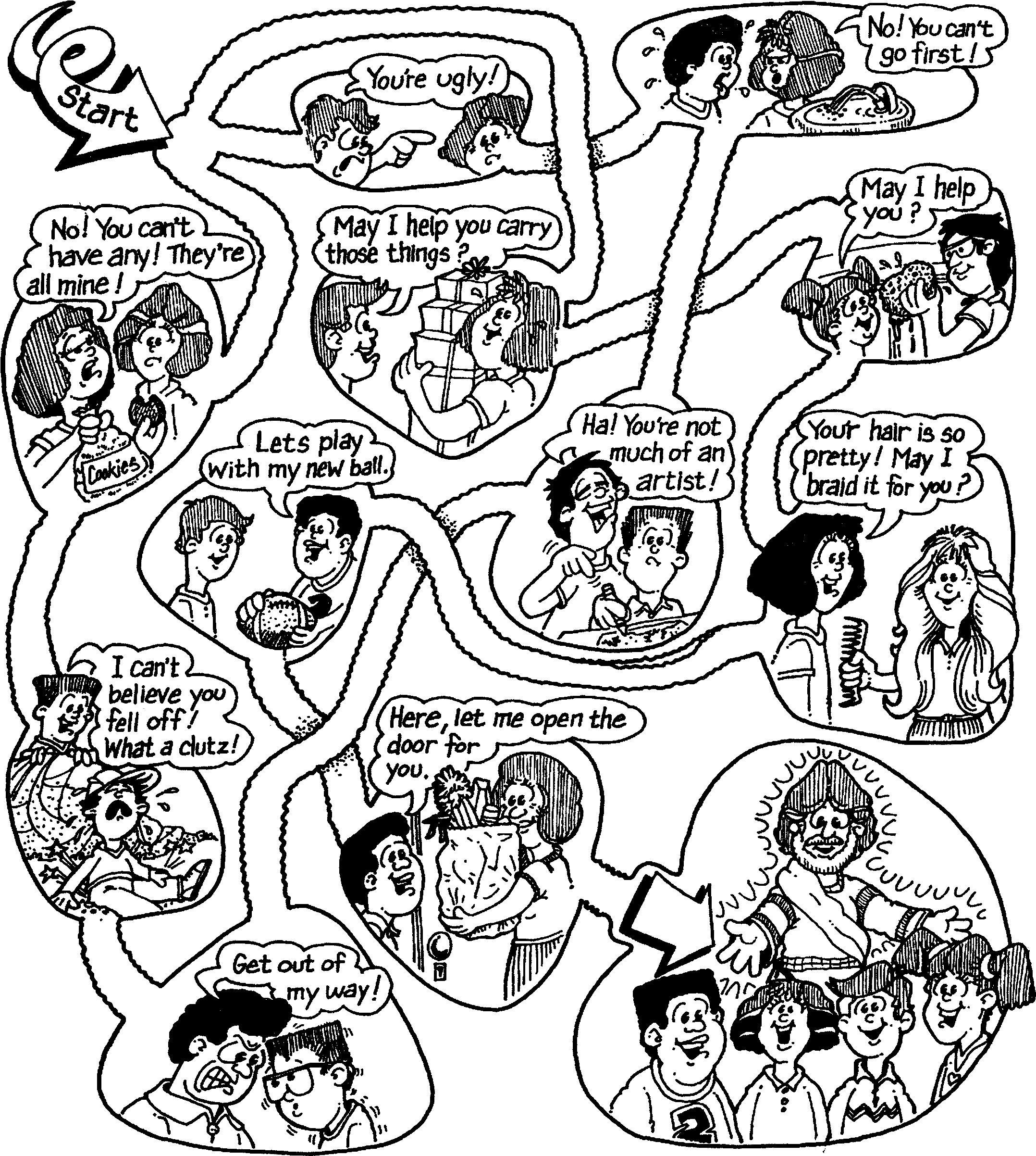 Free coloring page good samaritan - Good Samaritan Activity