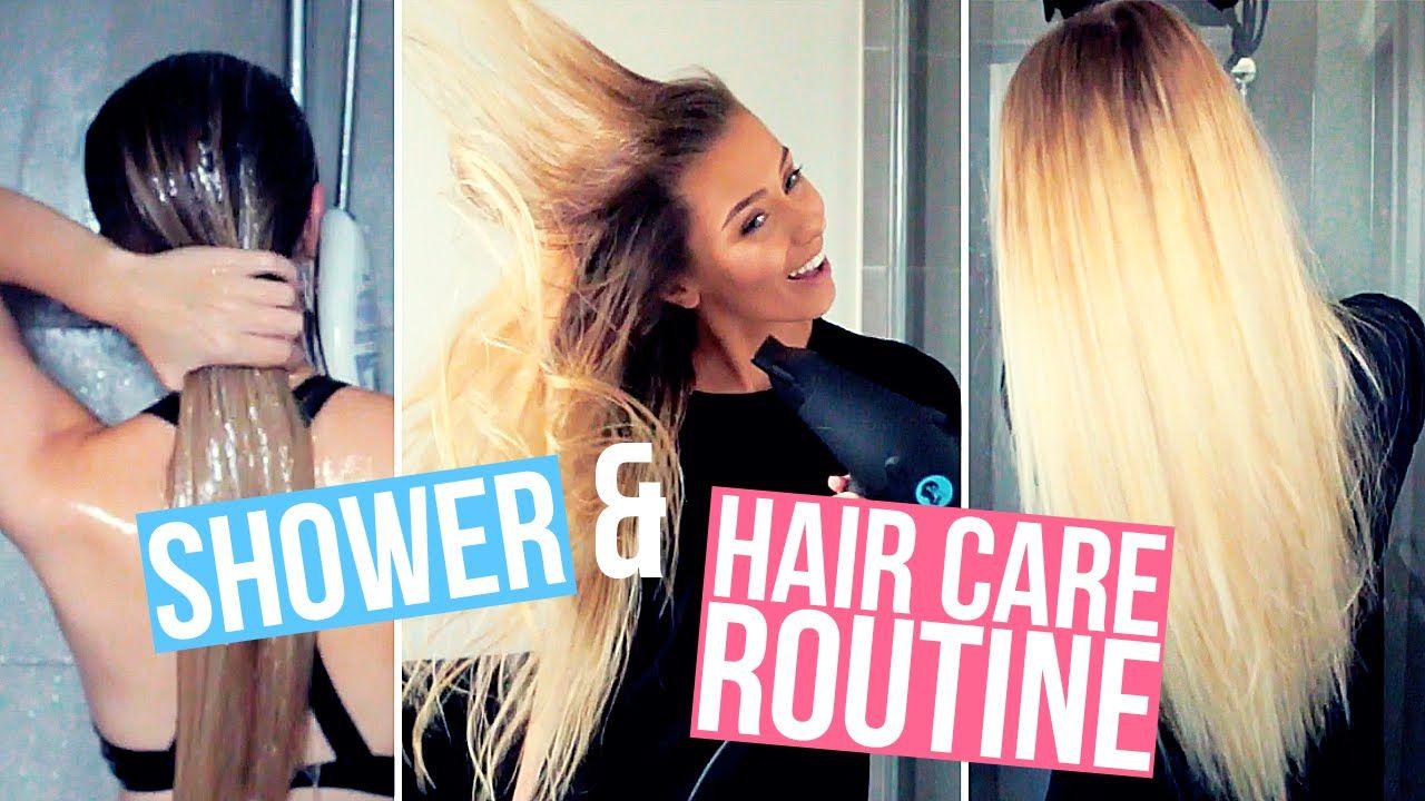 My Shower & Hair Care Routine ♡ Hair care, Hair care
