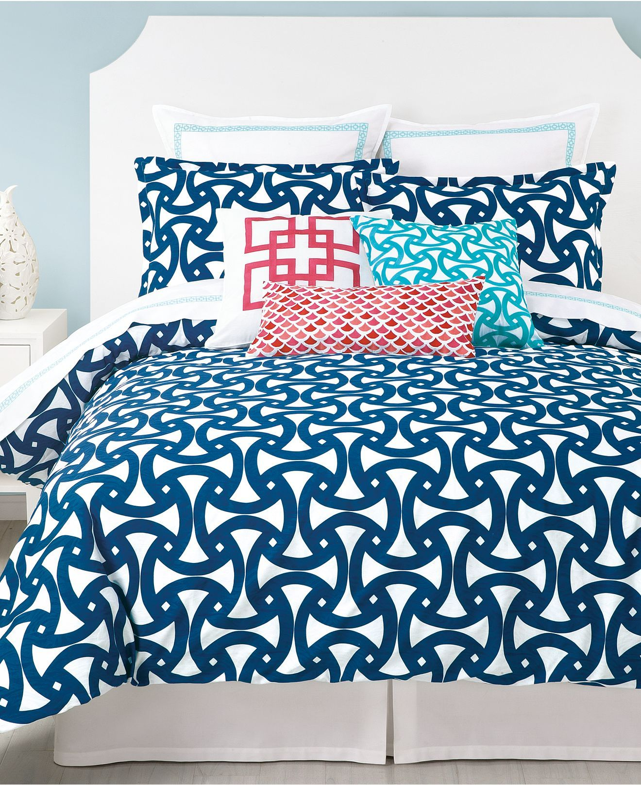 Trina Turk Bedding Santorini Comforter And Duvet Cover Sets