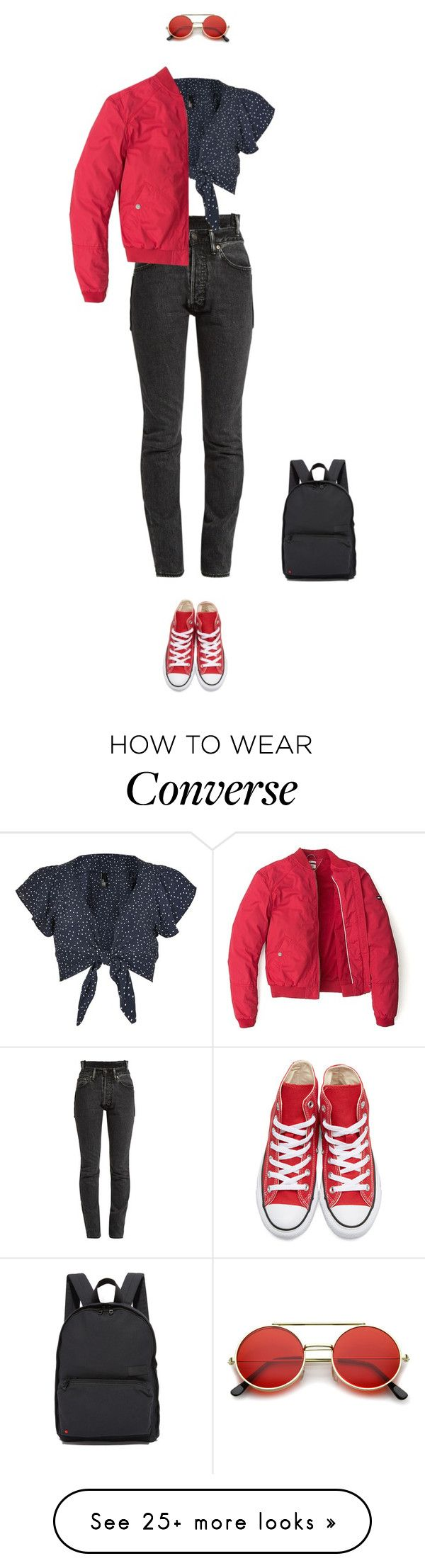 """""""*"""" by bekahxjayne on Polyvore featuring Vetements, Nobody's Child, State, Converse, ZeroUV and Tommy Hilfiger"""