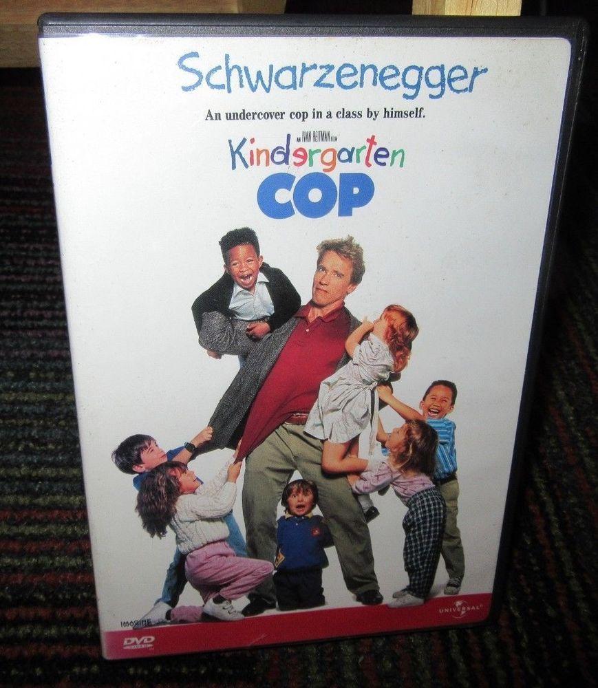 Kindergarten Cop Dvd Movie Arnold Schwarzenegger Penelope Ann