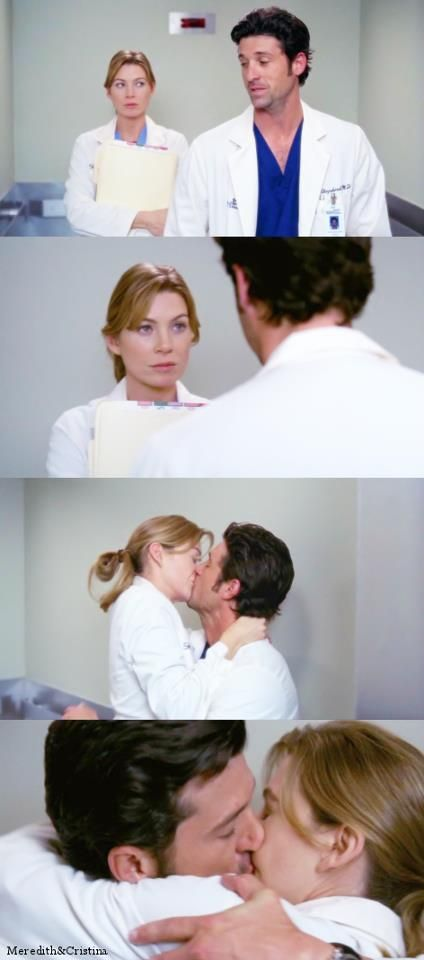 Yeah Derek Is Totallyyy Harassing You Meredith Merder Greys