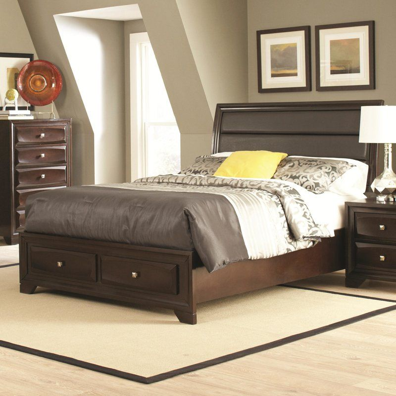 Lovely Fabric Panel Bed
