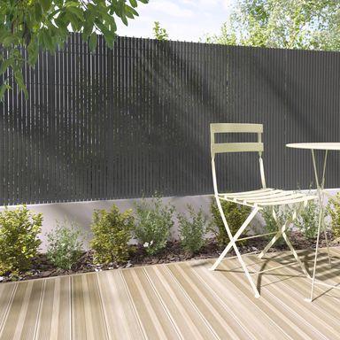 Oslona Balkonowa Pvc 5 M X 150 Cm Antracytowa Naterial Oslony Balkonowe Z Tworzyw W Atrakcyjnej Cenie W Sklepach Outdoor Furniture Sets Outdoor Decor Patio