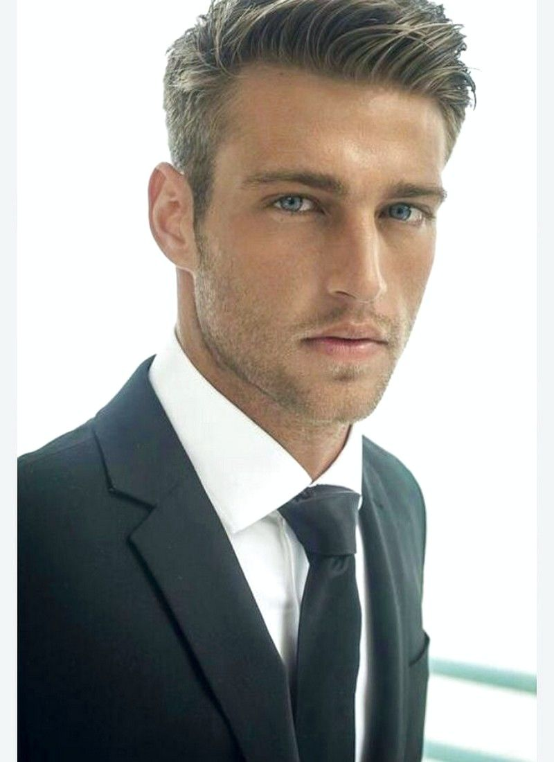 Men S Haircut Long Front Short Back In 2020 Thick Hair Styles Mens Hairstyles Short Boys Haircuts