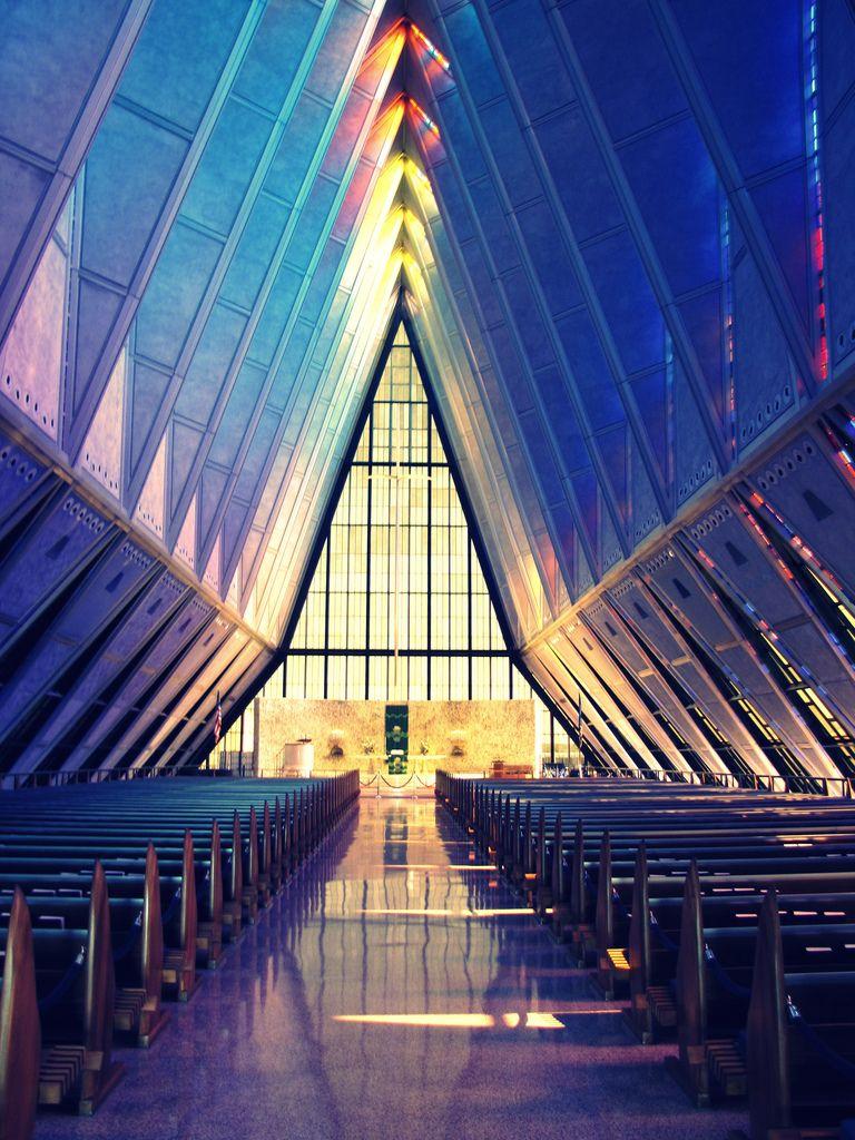 Colorado Springs Cadet Chapel (With images) Colorado