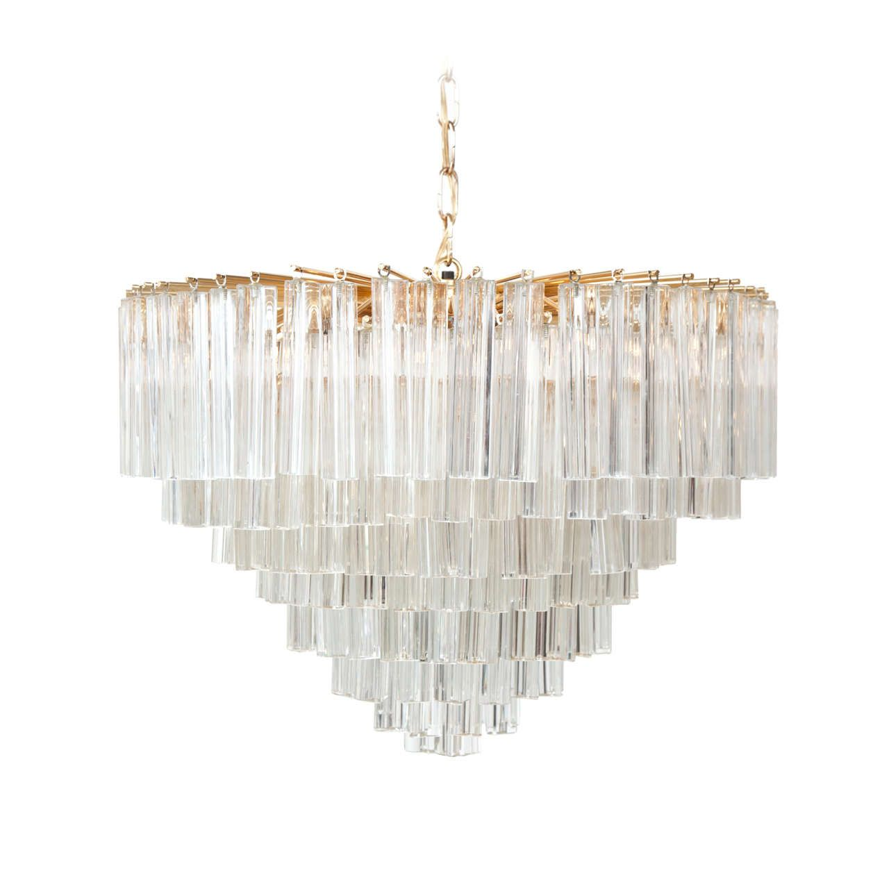 Sold vintage murano glass chandelier http1stdibs vintage murano glass chandelier aloadofball Gallery