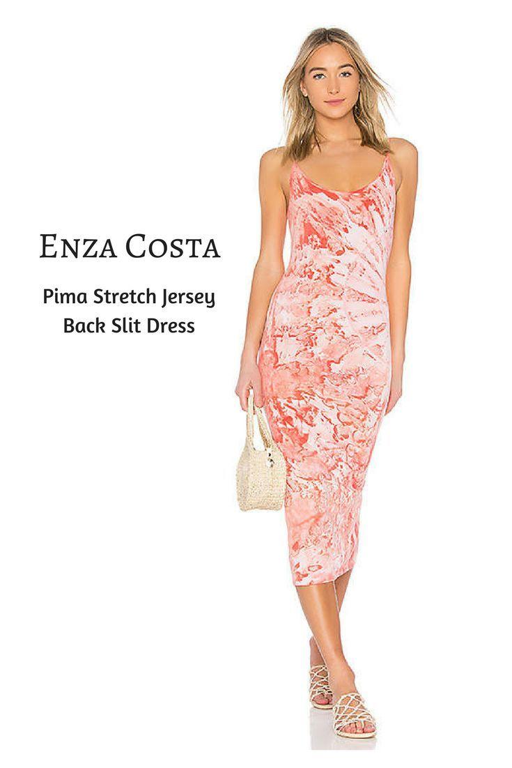 Very pretty dress for a Spring/Summer get together. #slitdress #dress #affiliatelink