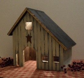 Lighted Country Houses And Primitive Saltbox Houses Primitive