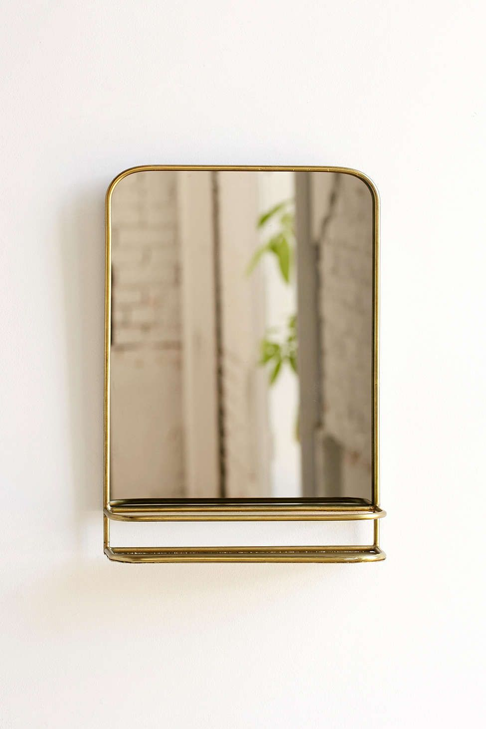 Small Bathroom Mirrors Uk Edith Mirror Shelf In 2019 | Remodel | Bathroom Mirror