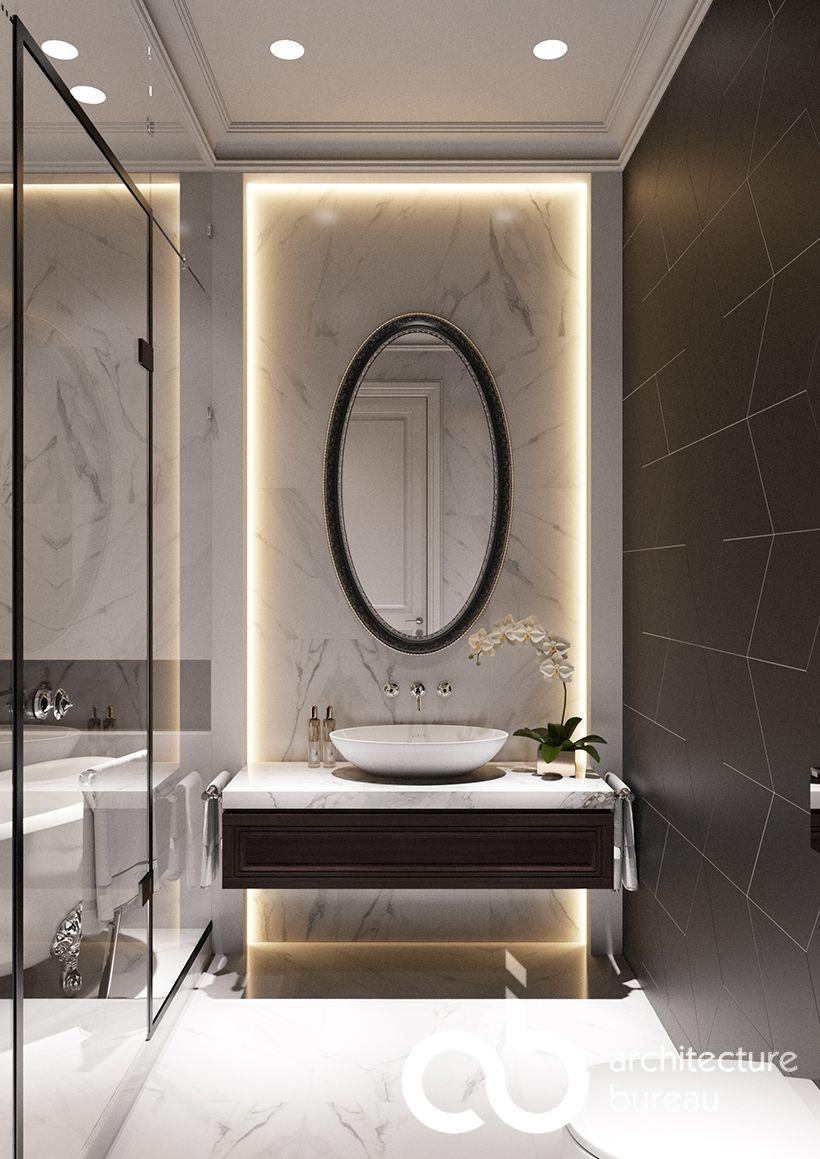 #ab_architects #design #interior #дизайн #интерьер #bathroom #ванная #modernpowderrooms