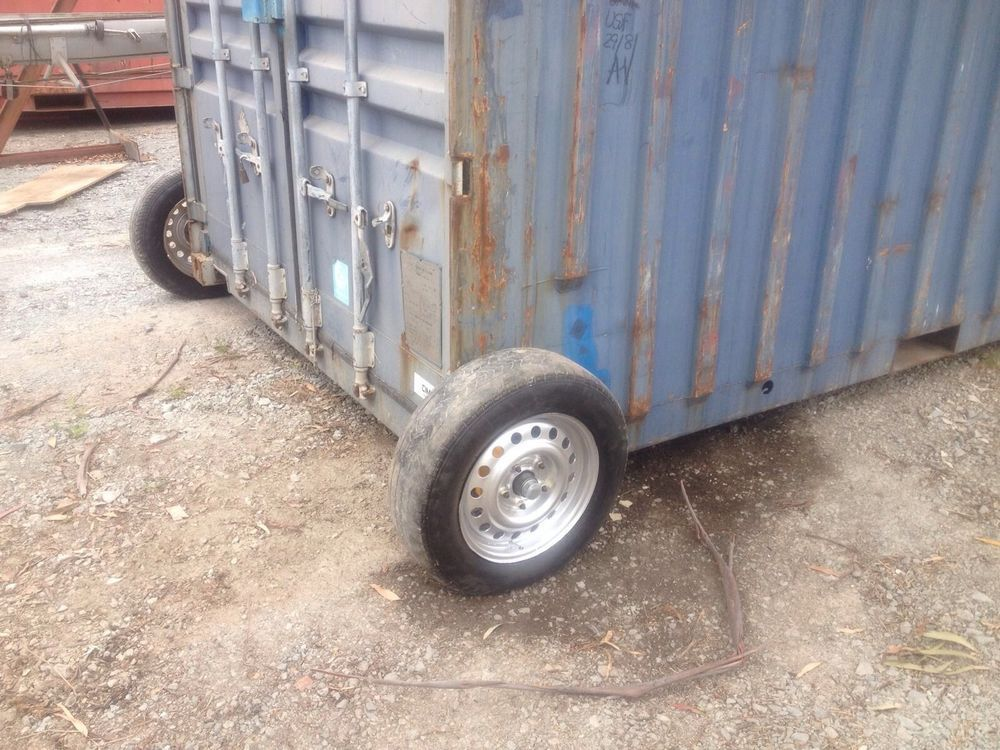 Shipping Container Wheels In Ebay Container Homes