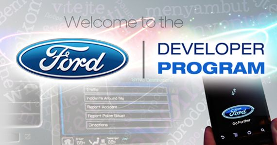 Apps for your car: Ford Developer Programm Sync AppLink