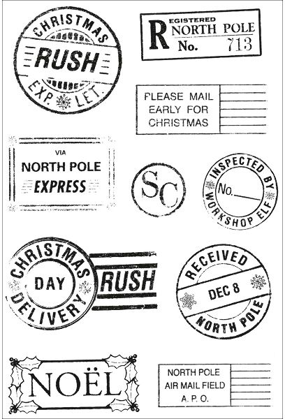 Free Santa Stamp Cliparts, Download Free Clip Art, Free Clip Art on Clipart  Library