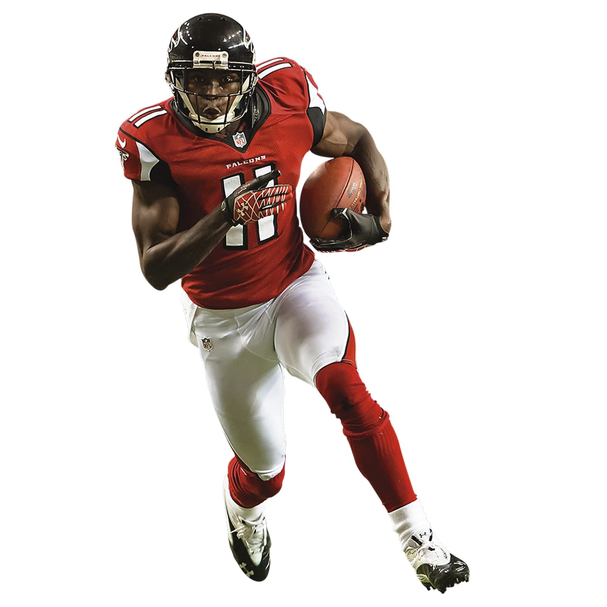Julio Jones Home Life Size Officially Licensed Nfl Removable Wall Decal Removable Wall Decals Removable Wall Julio Jones