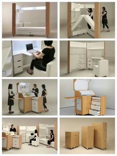 Fantastic E Saving Furniture By Anese Firm Atelier Opa