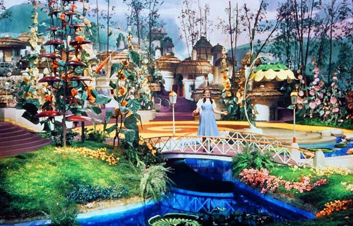 Image result for dorothy wizard of oz munchkinland