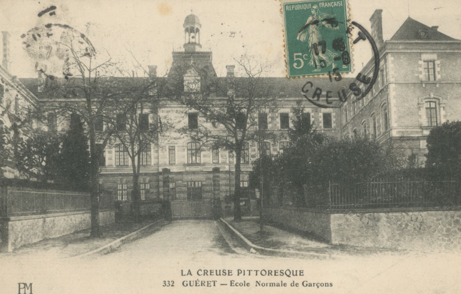 GUERET, Ecole Normale de Garçons - Bfm Limoges.