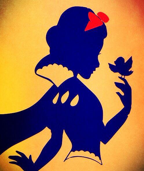 Snow White Silhouette Tattoo Idea Tattoo Me Snow