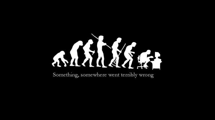 Funny Human Evolution Funny Picture Quotes Funny Wallpapers Disney Quote Wallpaper Iphone