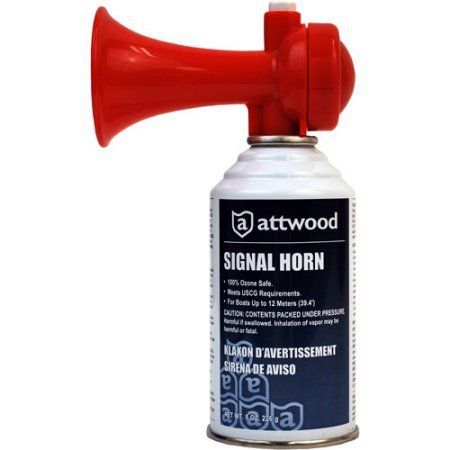 Attwood 8oz Safety Airhorn, Multicolor | Products in 2019