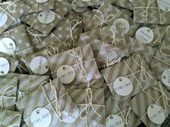 diy tea wedding favors - Google Search | ~Our Wedding 7.14.13 ...