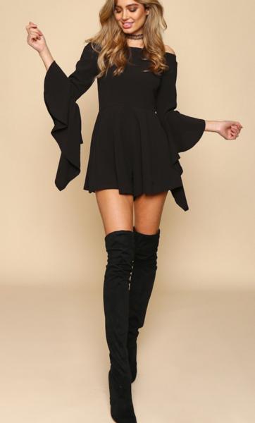 Dress Boots Black