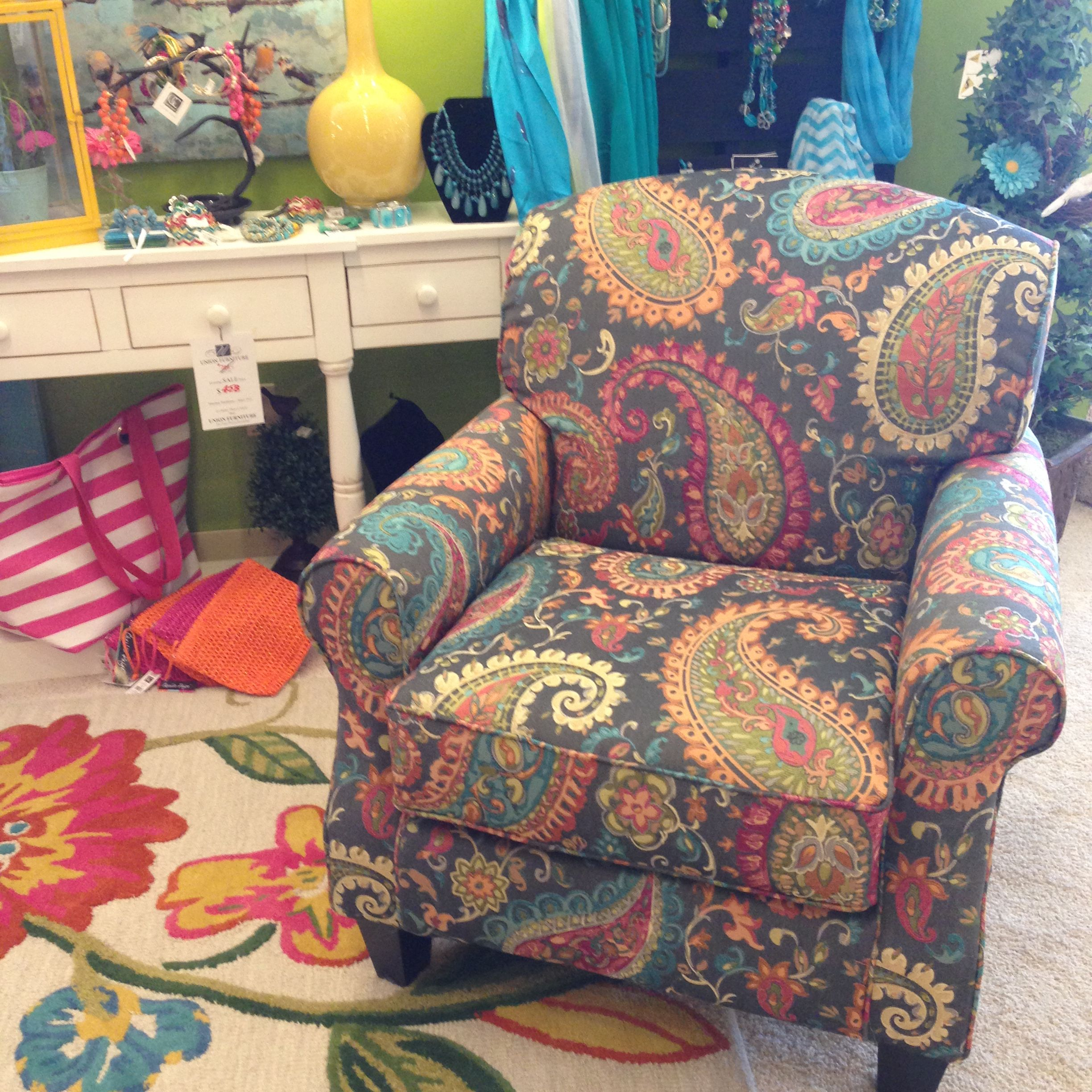 Fusion Paisley Chair