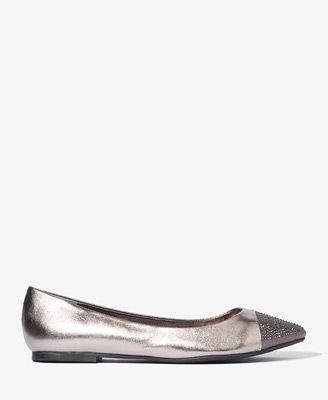 Sparkling Toe Ballet Flats @ Forever 21