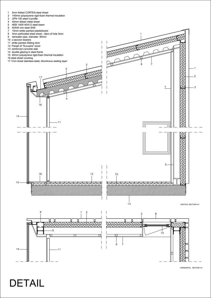 Galer 237 A De Detalles Constructivos De Arquitectura En Acero