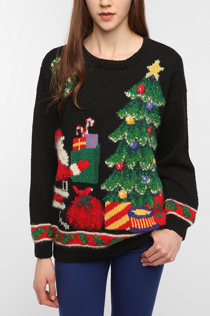 Urban Outfitters Ugly Christmas Sweater.Pin On Hilariously Horrible Holiday Sweaters