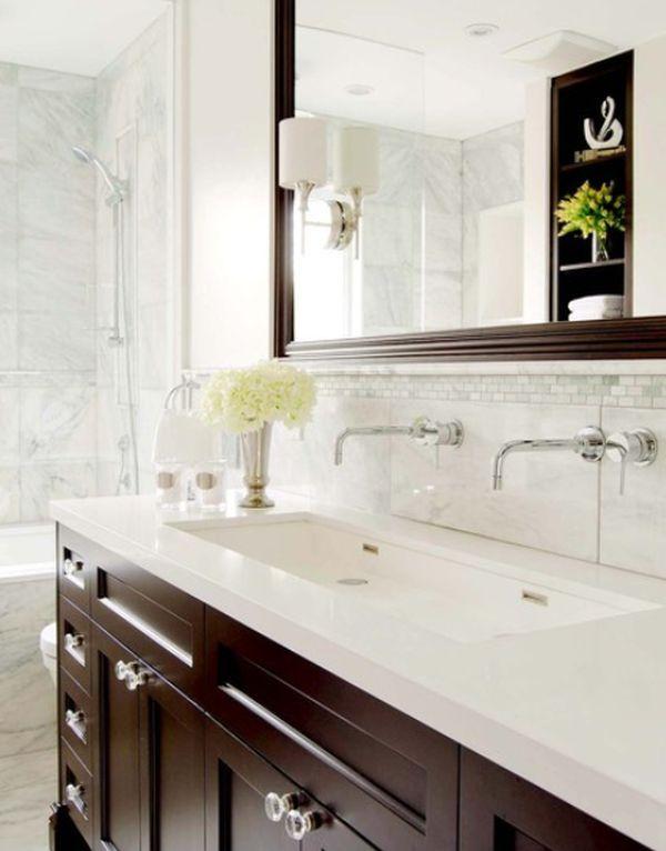 Clean A Bathroom Plans cleanbathroomwhitebrown | bathroom sink design, sink design and