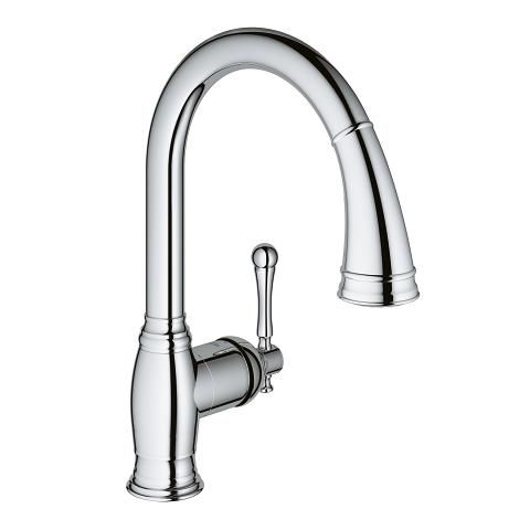 503 Bridgeford Single Handle Kitchen Faucet Grohe Single