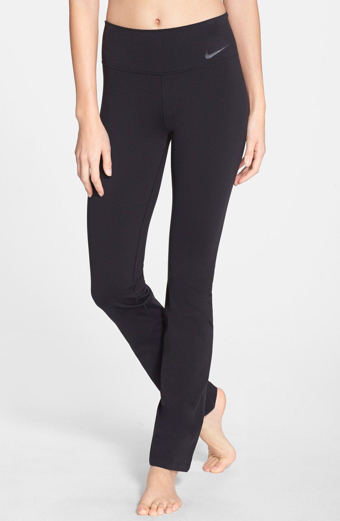 Nike legendary skinny drifit pants womens workout
