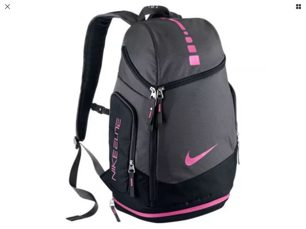 8cf82c738837 Nike Hoops Elite Max Air Breast Cancer Awareness Team Backpack BA4880 006  New  Nike  Backpack