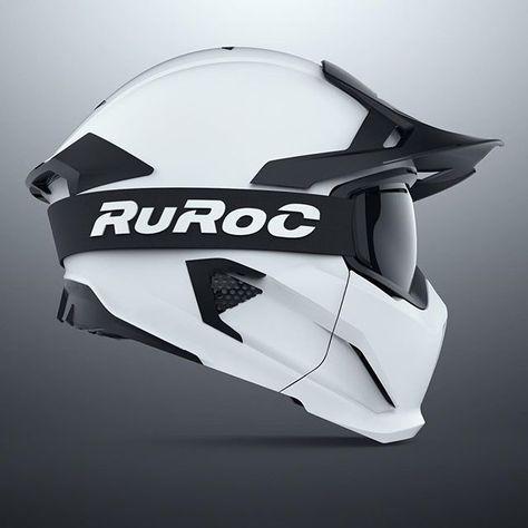 Ruroc Motorcycle Helmet Casques Motos Casques Et Casque